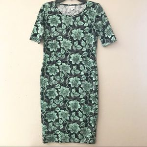 Lularoe Julia floral print dress size XS
